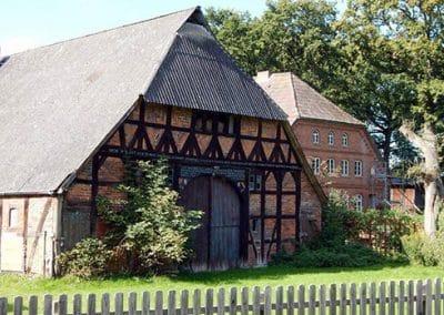 Fachwerkhaus in der Lüneburger Heide