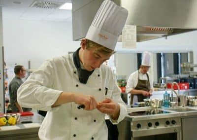 Max Schulze kocht vegan im Landhotel Pferdeschulze